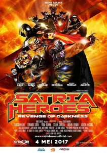 Satria Heroes Revenge of the Darkness  นักรบครุฑา เพลิงแค้นแห่งความมืด